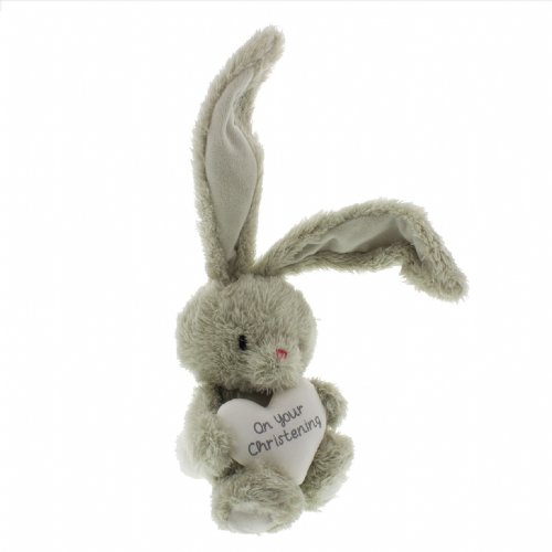 Bunny Rabbit Soft Toy Christening Gift
